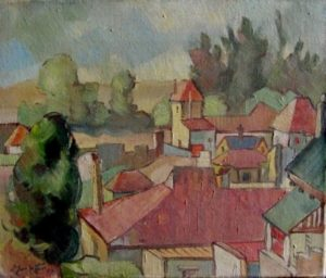 1949-melville~oil-on-canvas~25cm-x-30cm