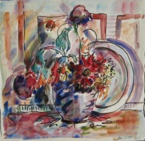 1949-still-life~water-colour-on-paper~28cm-x-29cm