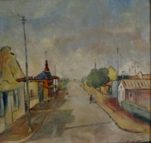 1949-street-in-pietersburg~oil-on-wood~38cm-x-40cm