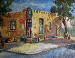 1950-corner-shop-oil-on-canvas-36cm-x-46cm-unframed-section-2-no-140-artists-collection-img_0086_0