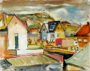 1950-landscape-with-houses-in-linden-oil-on-paper-28cm-x-35cm-unframed-section-1-artists-collection