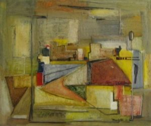 1957-city-scape-oil-on-hard-board-56cm-x-66cm-unframed-section-8-no-267-artists-collectionimg_0114-jpgimg_0089