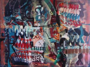 1970-soul-of-a-city-acrylic-on-canvas-91cm-x-122cm-unframed-section-7-no-25-artists-collectionimg_0009
