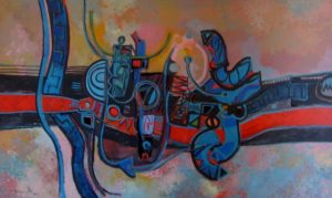 1973-5-breakfast-run-acrylic-on-canvas-92cm-x-152cm-unframed-section-6-no-38-artists-collectionimg_0029