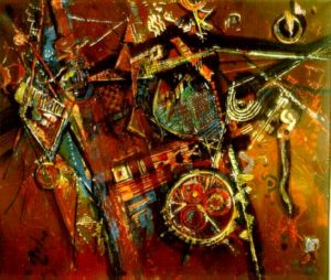 1983-impromptu-acrylic-on-canvas-76cm-x-91cm-no-43-pelmama-collection