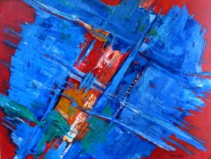 1991-the-big-blue-acrylic-on-canvas-91cm-x-121cm-reload