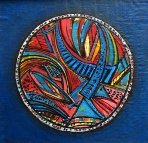 2003-ferris-wheel-acrylic-on-canvas-44cm-x-44cm-framed-section-8-no-72-artists-collection-468