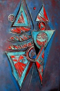 2003-two-harlequins-acrylic-on-canvas-100cm-x-75cm-wooden-frame-section-10-no-89-artists-collection