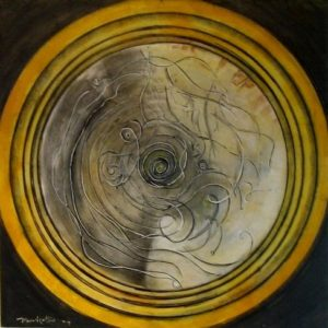 2004-yellow-circle-acrylic-on-canvas-101cm-x-101cm-img_00391